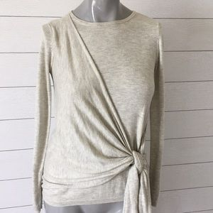 A New Day tie front sweater size XS
